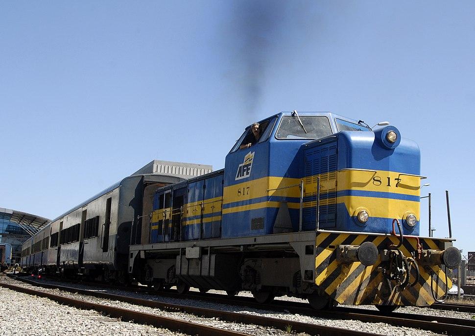 Rail transport in Montevideo, 2008