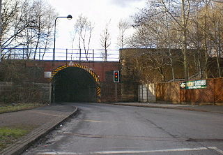 Middleton Junction area of Greater Manchester, England
