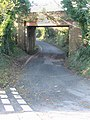 Railway bridge over road to Martin Mill - geograph.org.uk - 625175.jpg