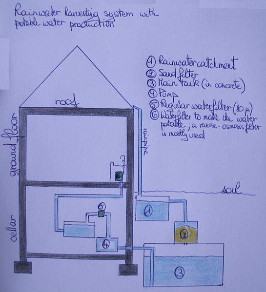 Rainwater Harvesting An Efficient Water Solution For