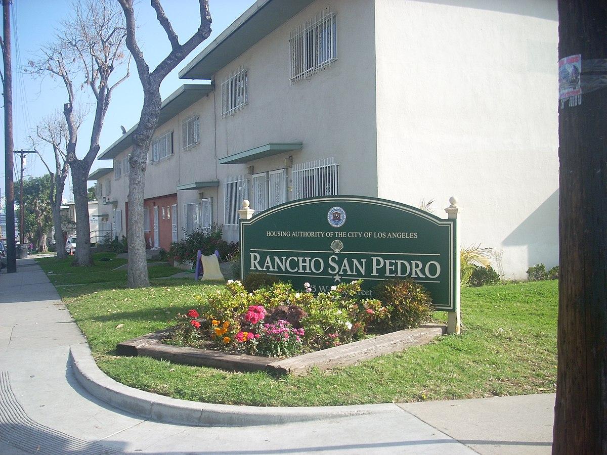 rancho san pedro public housing wikipedia