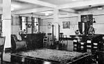 Randolph Field - 1938 - Headquarters Squadron Dayroom Pooltables.jpg