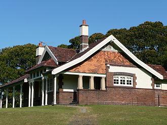 Centennial Parklands - Ranger's cottage designed by Walter Liberty Vernon