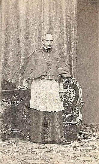 Joseph Othmar Rauscher - Archbishop Joseph Ritter von Rauscher. Photography, before 1866