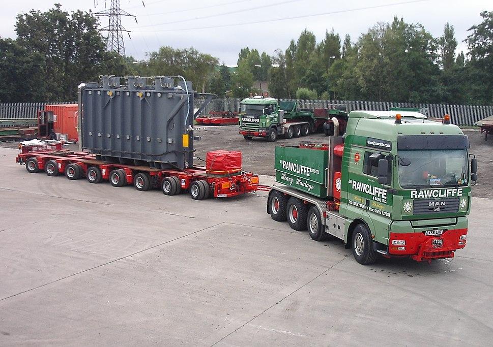Rawcliffe Ballast Tractor & Trannsformer