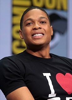 Ray Fisher (actor) American actor