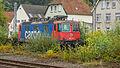 Re 4-4 - 421 377-3 - SBB CFF FFS Cargo (Schweizerische Bundesbahnen) - Bhf Bad Bentheim - Deutschland (21970177806).jpg