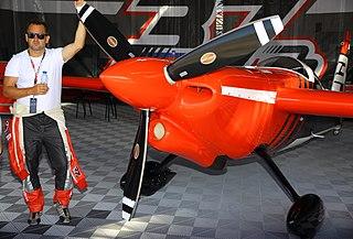 Peter Podlunšek Slovenian air racer
