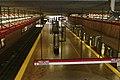 Red Line platform at Alewife station, April 2006.jpg