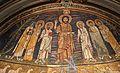 Redentore coi ss. paolo, cecilia, pasquale I, pietro, valeriano e agata, 820 ca. 02.jpg