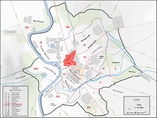Regio VIII Forum Romanum Historical region of Rome
