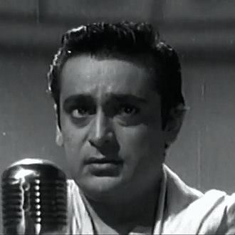 Rehman (actor) - Rehman in Pyaasa (1957)