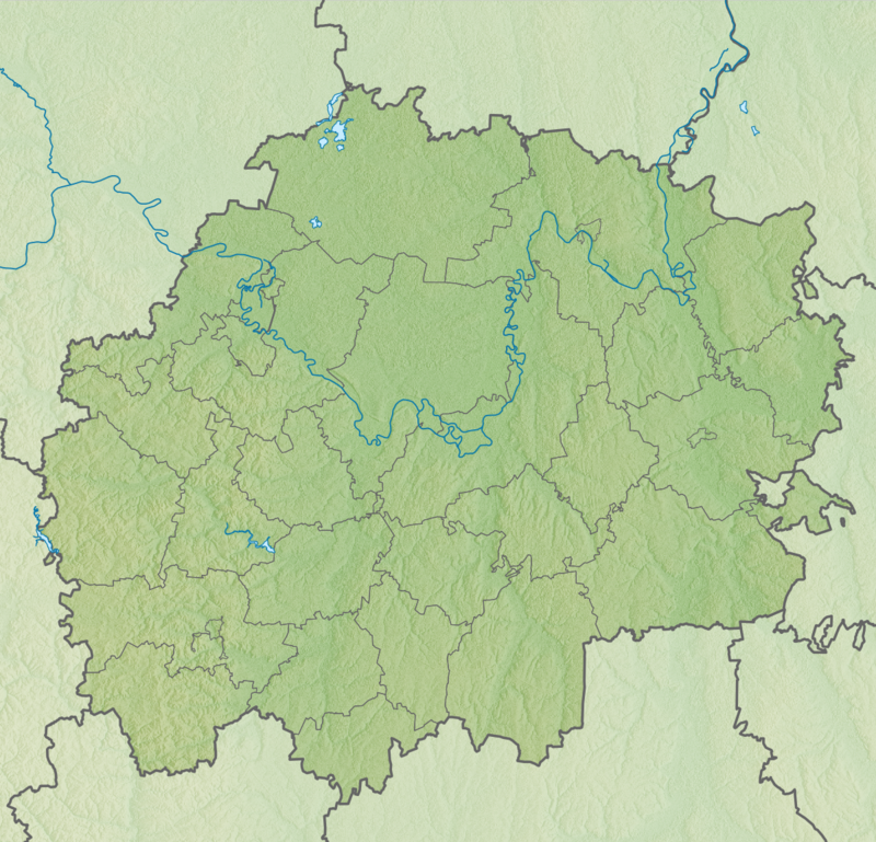 рязанская область карта картинка собраны, отреставрированы