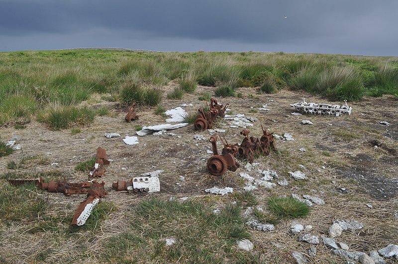File:Remains of a German Heinkel 111H bomber.JPG