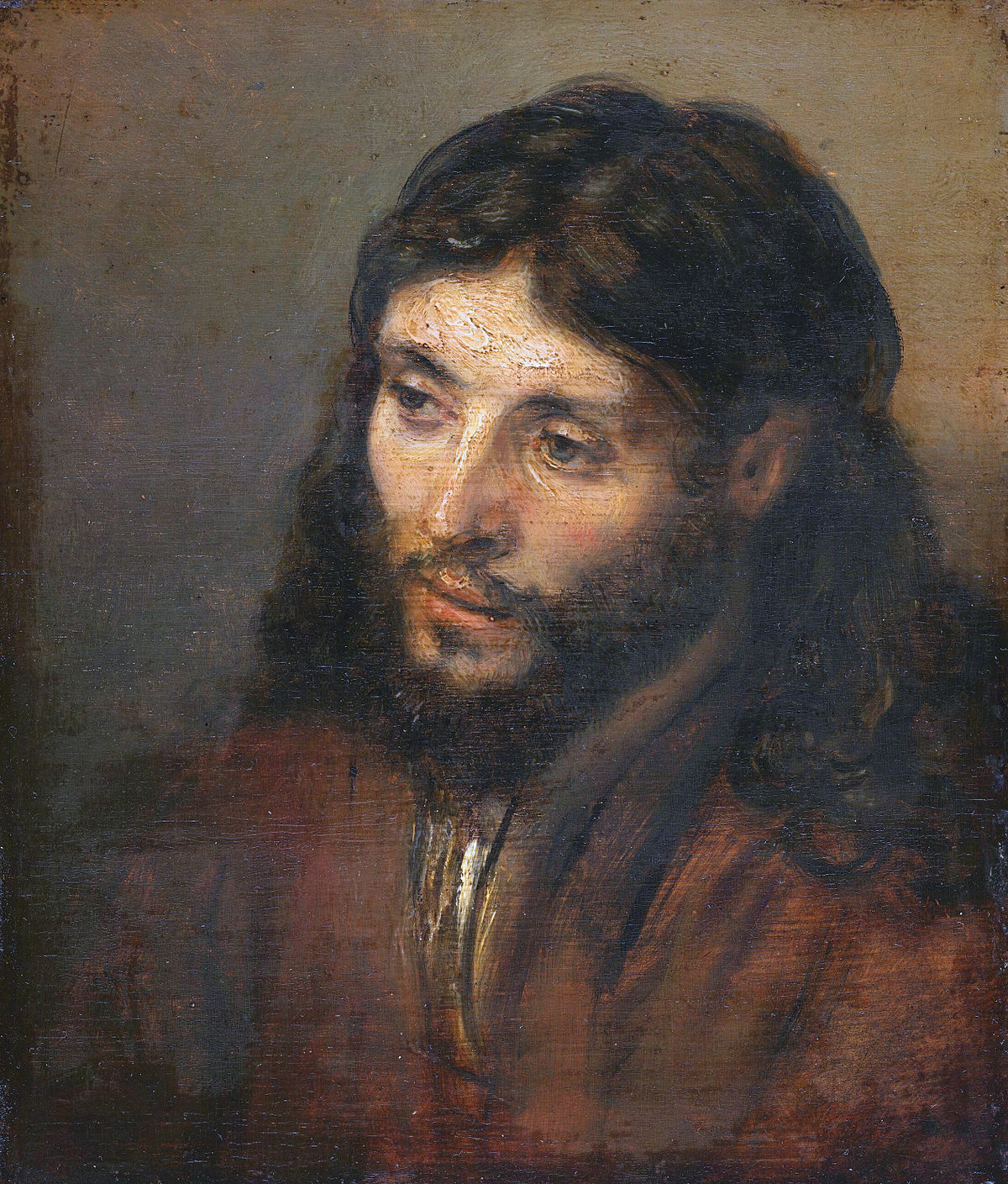 head of christ rembrandt