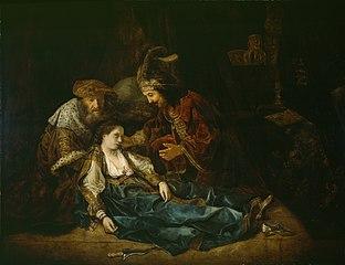The Death of Lucretia (?)