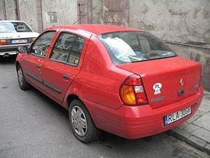 Renault Symbol - 1999 Renault Thalia rear view