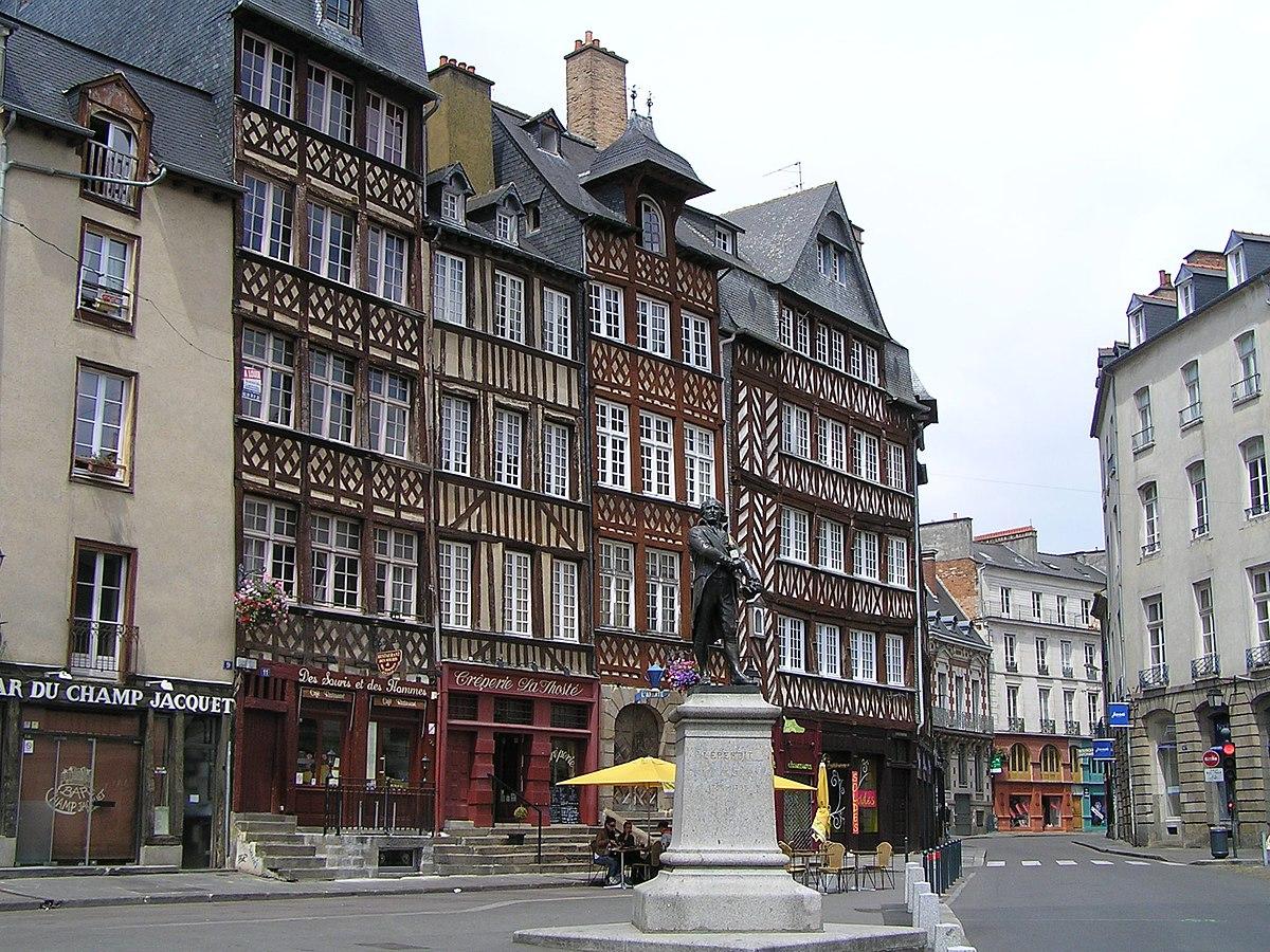 Patrimoine architectural de rennes wikip dia for Architecture rennes