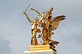 Renommée du Commerce - Pont Alexandre III, Paris February 2014.jpg