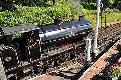 Repulse at Haverthwaite railway station (6592).jpg
