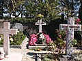 """Resting Place of Actress Audrey Hepburn,first Person to Sing """"Moon River"""" in the 1961 Movie """"Breakfast at Tiffanys"""". Tolochenaz, Switzerland, September 2012. - panoramio.jpg"""