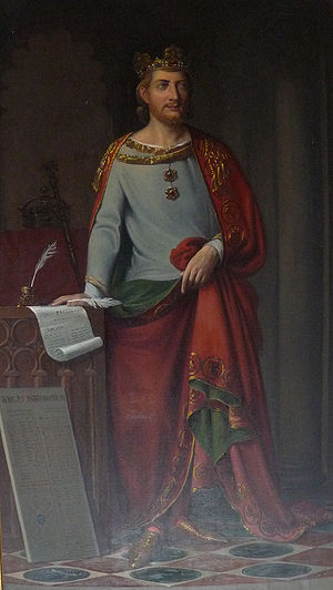 Philip of Castile - Later representation of Alfonso X the Wise, King of Castile and León.