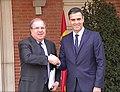 Reunión entre el presidente de la Junta de Castilla y León y el presidente del Gobierno 01.jpg