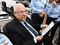 Reuven Rivlin in the Forensic Divisionen of the Israeli Police, January 2018 (0474).jpg