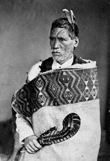 Rewi Maniapoto Ngati Maniapoto chief