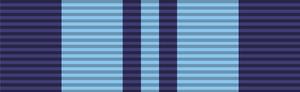 Hiraji Cursetji - Image: Ribbon India Service Medal