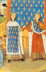 Richard the Lionheart meets Philip II (15th century depiction)