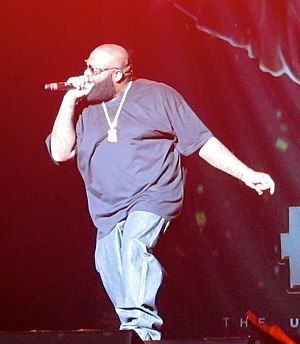 Monster (Kanye West song) - Image: Rick Ross in 2011