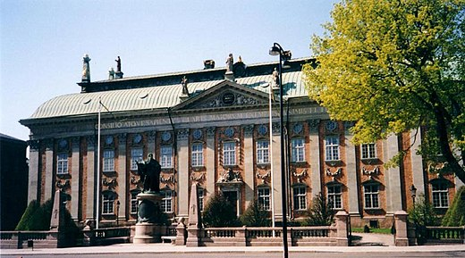 The House of Nobility, seat of the Swedish nobility. Riddarhuset.jpg