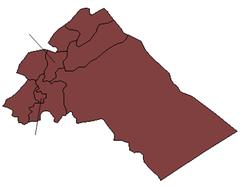 Rif Dimashq blank districts.png