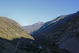 The Aconcagua river