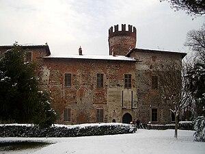 Rivarolo Canavese - The Castle of Malgrà.