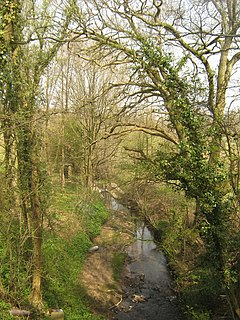 River Bewl river in the United Kingdom