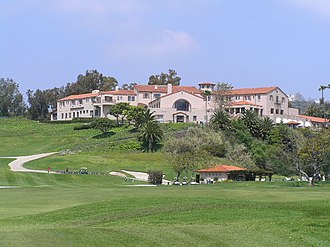Country club - Riviera Country Club in Pacific Palisades, Los Angeles, California