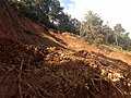 Roadside Landslip in Vazachal Forest, Anaimalai hills Roadside Landslip in Anaimalai hills IMG 20180908 154505959.jpg