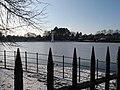 Roath Park Lake - frozen - geograph.org.uk - 1654905.jpg