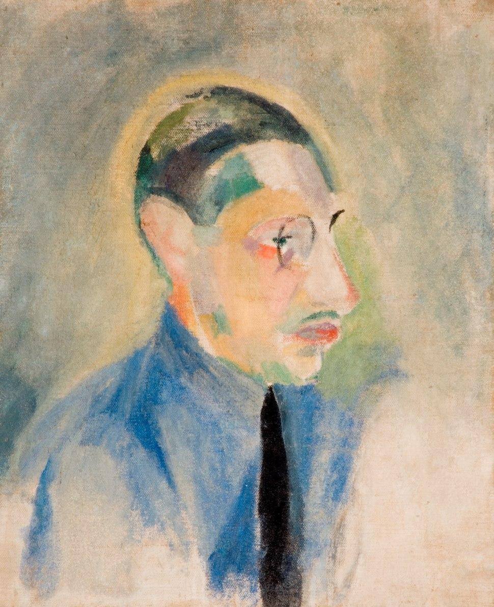 Robert Delaunay - Portrait of Stravinsky
