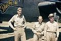 Robert T. Smith, John Alison, and Phil Cochran (Hailkandi, India, March 1944).jpg