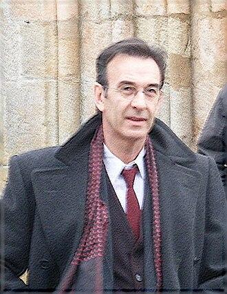 Un village français - Robin Renucci, in costume as Daniel Larcher.