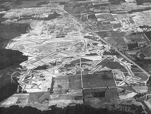 Robins Air Force Base - Robins Army Airfield, about 1944