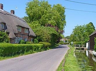 Rockbourne - Image: Rockbourne Village geograph.org.uk 1921827