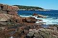 Rocky shore & waves (next to Thunder Hole, Mt. Desert Island, Maine, USA) 4.jpg