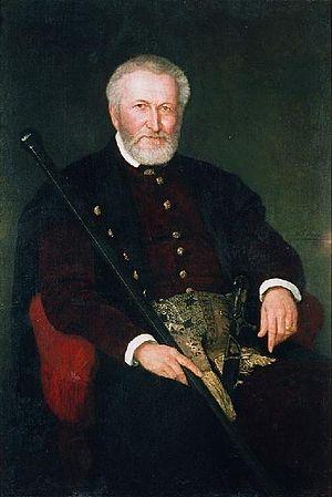 Leon Sapieha - Portrait of Sapieha by Henryk Rodakowski, 1878