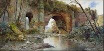 ROESLER Franz, Ettore : An old Aquaduct, 1897