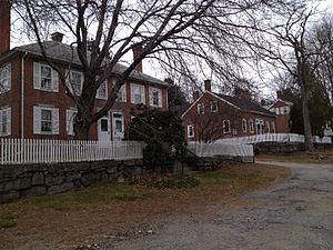 Rogerson's Village Historic District - Image: Rogersons Village Housing, Uxbridge, MA
