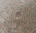 Roman Medusa Mosaic with Pelta at Ein Yael (8118671831).jpg